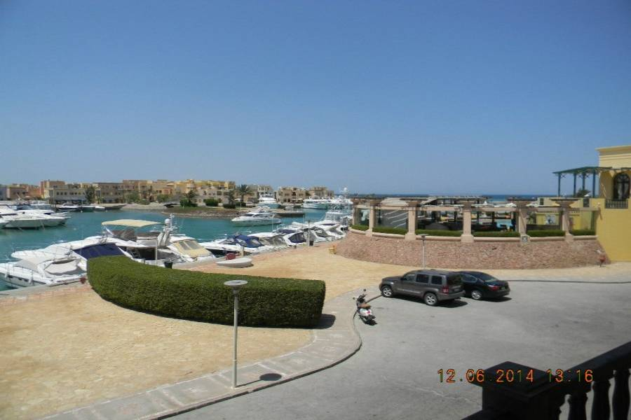Lovely Marina & Sea View 2 Bedrooms Apartment For Sale  In El Gouna